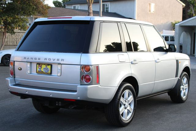 2004 Land Rover RANGE ROVER HSE NAVIGATION SERVICE RECORDS in Van Nuys, CA 91406