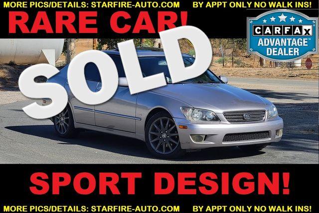 2004 Lexus IS 300 SPORT DESIGN