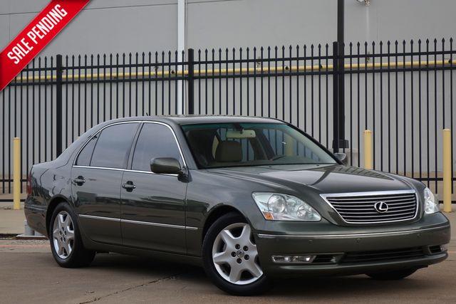 2004 Lexus LS 430 Only 102k Mi* Sunroof*Nav* BU Cam* | Plano, TX | Carrick's Autos in Plano TX