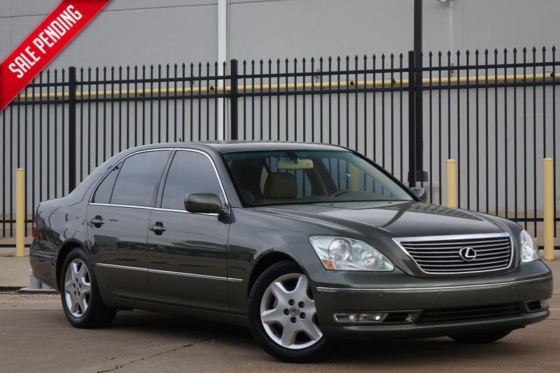 2004 Lexus LS 430 Only 102k Mi* Sunroof*Nav* BU Cam*   Plano, TX   Carrick's Autos in Plano TX