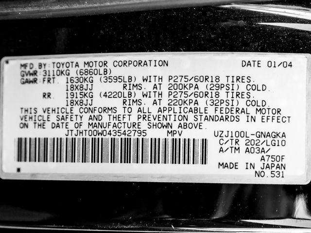2004 Lexus LX 470 Burbank, CA 34