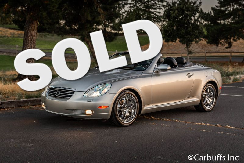 2004 Lexus SC 430 Convertible | Concord, CA | Carbuffs