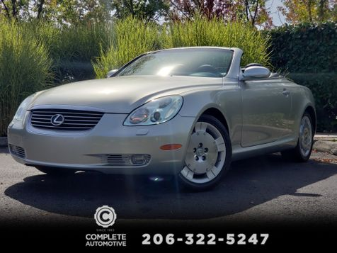 2004 Lexus SC 430 Convertible 1 Owner 47,945 Original Miles History Like New!    in Seattle