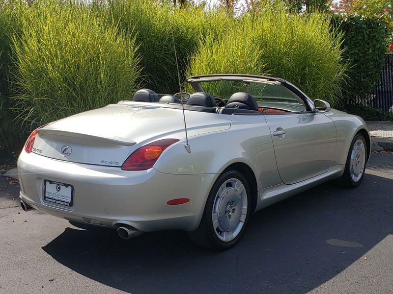 2004 Lexus SC 430 Convertible 1 Owner 47945 Original Miles History Like New     city Washington  Complete Automotive  in Seattle, Washington