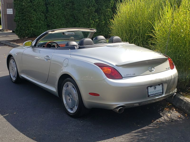2004 Lexus SC 430 Convertible 1 Owner 47945 Original Miles History Like New     city Washington  Complete Automotive  in Seattle, Washington