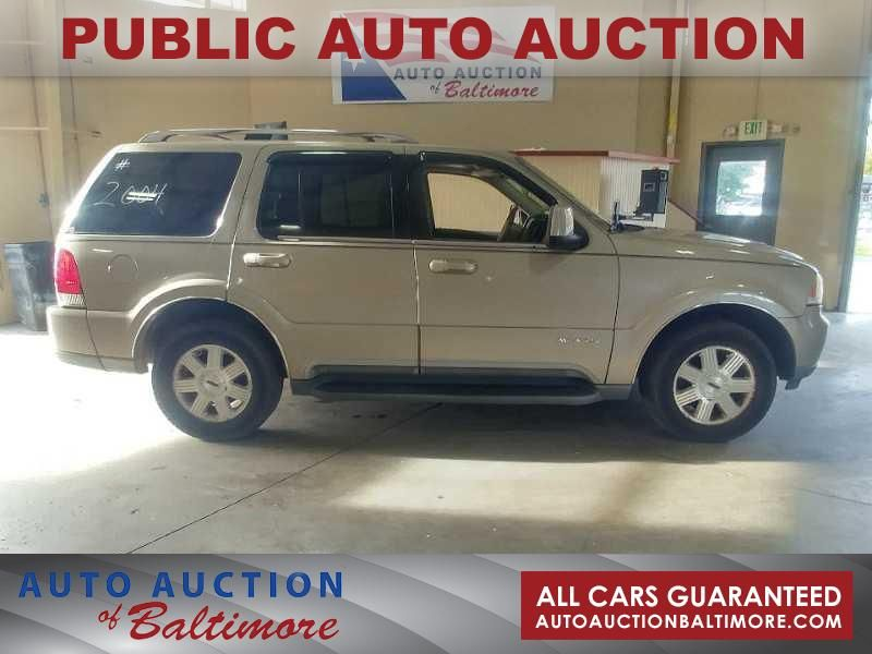2004 Lincoln AVIATOR  | JOPPA, MD | Auto Auction of Baltimore  in JOPPA MD