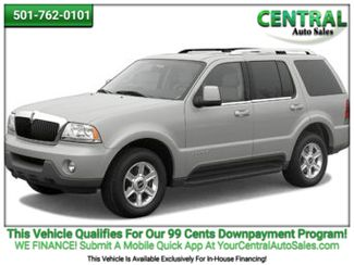 2004 Lincoln AVIATOR/PW  | Hot Springs, AR | Central Auto Sales in Hot Springs AR