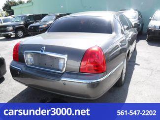 2004 Lincoln Town Car Signature Lake Worth , Florida 3