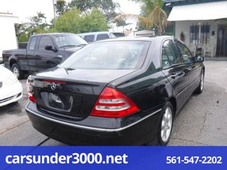 2004 Mercedes-Benz C320 3.2L Lake Worth , Florida 1