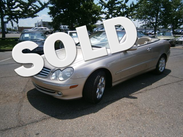 2004 Mercedes-Benz CLK320 Cabriolet 3.2L Memphis, Tennessee