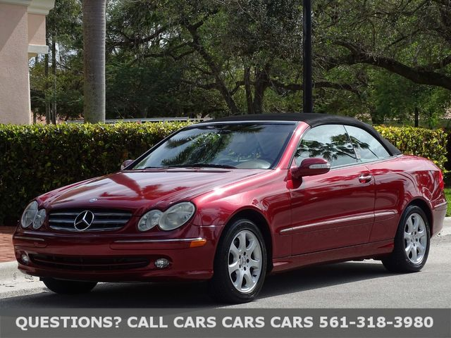 2004 mercedes benz clk320 cabriolet 3 2l west palm beach florida the palm beach collection 2004 mercedes benz clk320 cabriolet 3