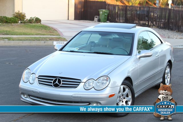 2004 Mercedes-Benz CLK320 75K MLS AUTOMATIC SERVICE RECORDS