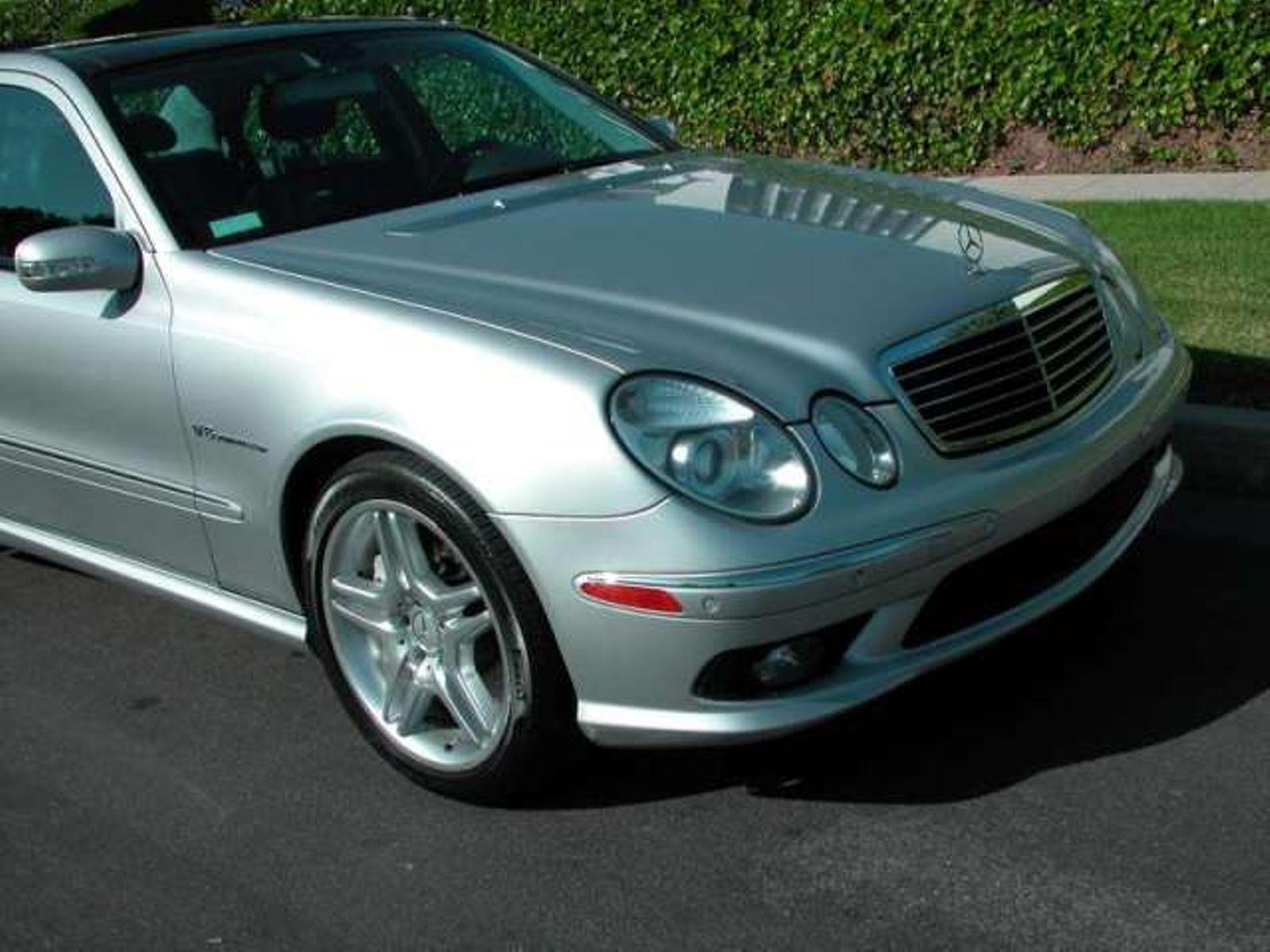 2004 Mercedes Benz E 55 AMG city California Auto Fitness Class Benz
