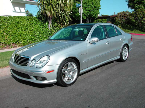 2004 Mercedes-Benz E-55 AMG in , California