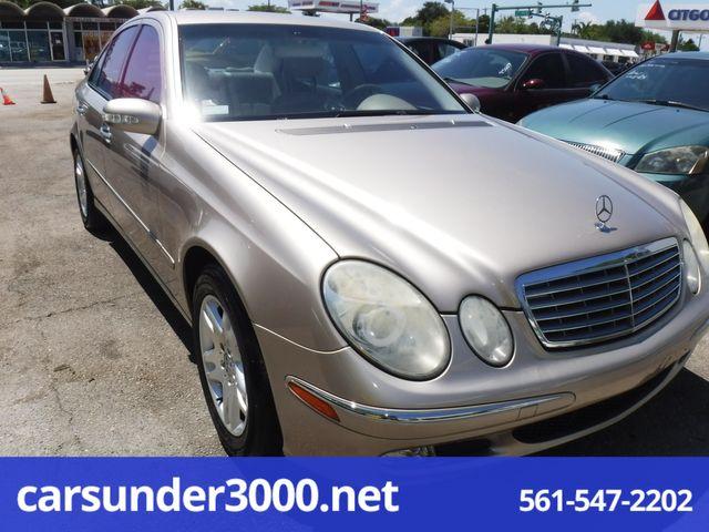 2004 Mercedes-Benz E320 3.2L Lake Worth , Florida