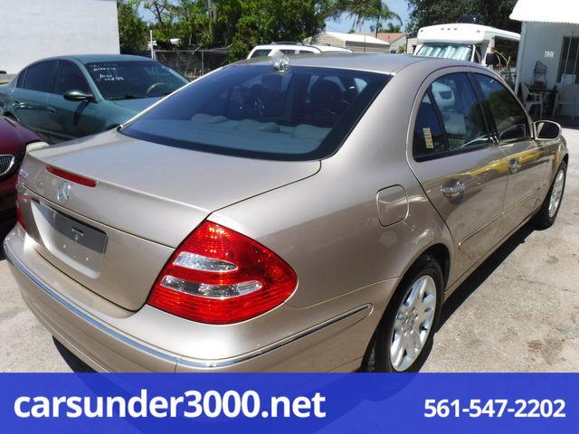 2004 Mercedes-Benz E320 3.2L Lake Worth , Florida 1