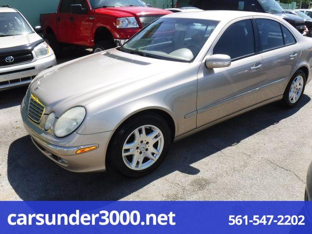 2004 Mercedes-Benz E320 3.2L Lake Worth , Florida 4