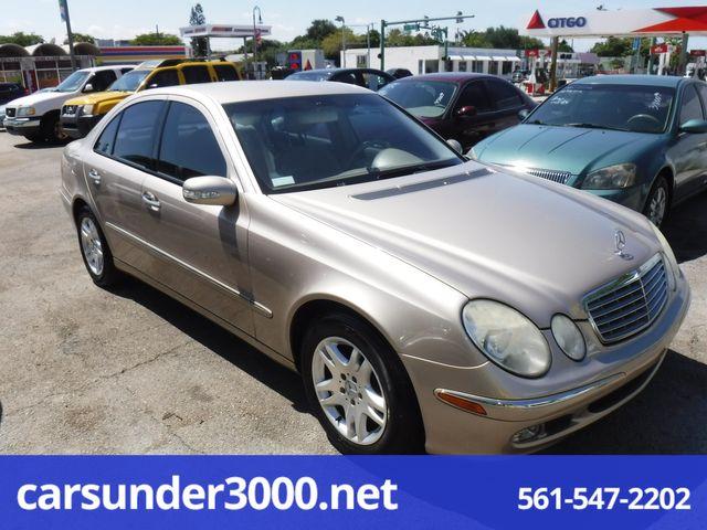 2004 Mercedes-Benz E320 3.2L Lake Worth , Florida 5