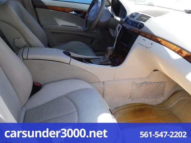 2004 Mercedes-Benz E320 3.2L Lake Worth , Florida 7