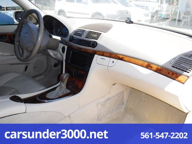 2004 Mercedes-Benz E320 3.2L Lake Worth , Florida 8