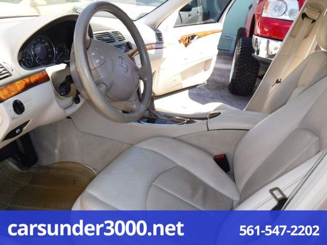 2004 Mercedes-Benz E320 3.2L Lake Worth , Florida 10