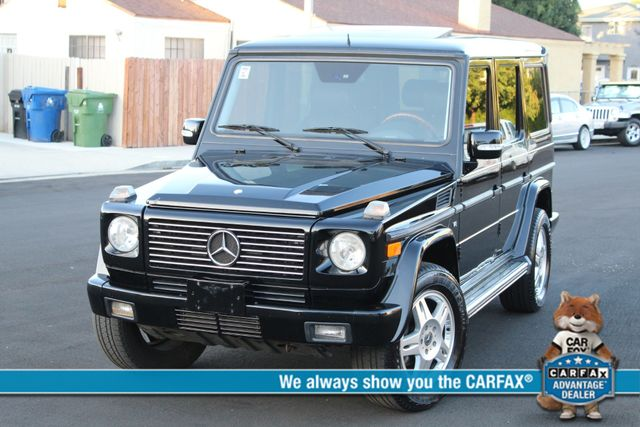 2004 Mercedes-Benz G500 5.0L NAVIGATION SUNROOF 48 SERVICE RECORDS