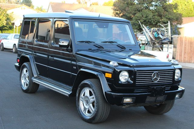 2004 Mercedes-Benz G500 5.0L NAVIGATION SUNROOF 48 SERVICE RECORDS in Van Nuys, CA 91406