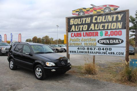 2004 Mercedes-Benz ML350 3.5L in Harwood, MD