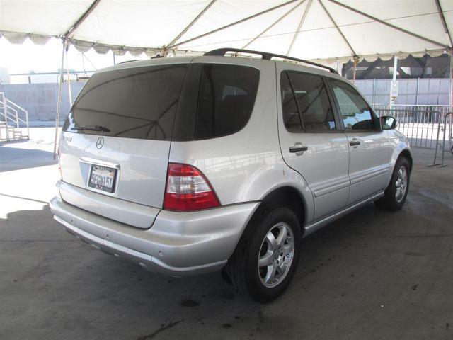 2004 Mercedes-Benz ML500 5.0L Gardena, California 2