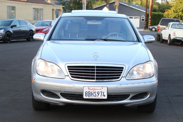 2004 Mercedes-Benz S430 4.3L 1-OWNER NAVIGATION SUNROOF SERVICE RECORDS in Van Nuys, CA 91406