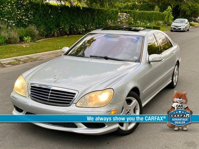 2004 Mercedes-Benz S500 5.0L 79K MLS NAVIGATION SERVICE RECORDS NEW TIRES