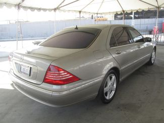 2004 Mercedes-Benz S500 5.0L Gardena, California 2