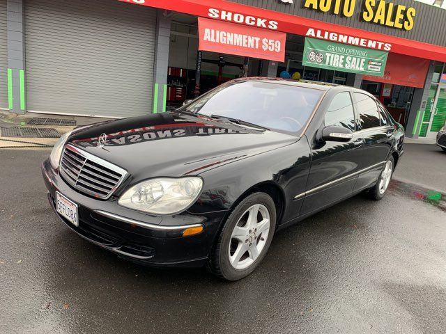 2004 Mercedes-Benz S500 5.0L in Hayward, CA 94541