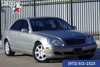 2004 Mercedes-Benz S500 5.0L Clean Carfax in Plano Texas, 75093