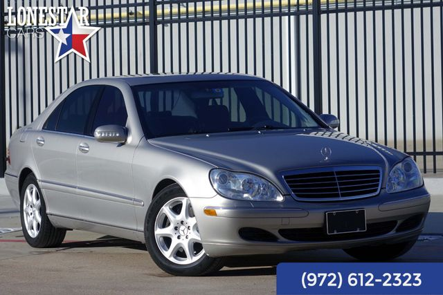 2004 Mercedes-Benz S500 5.0L Clean Carfax Extra Clean