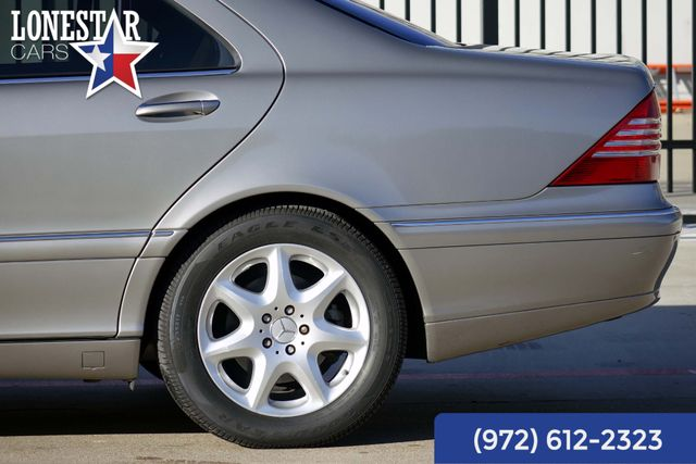 2004 Mercedes-Benz S500 5.0L Clean Carfax Extra Clean in Carrollton, TX 75006