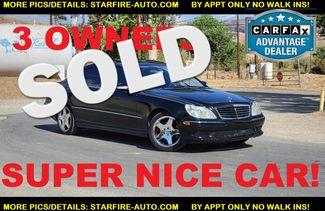 2004 Mercedes-Benz S500 5.0L Santa Clarita, CA