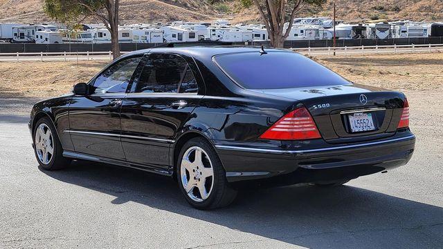 2004 Mercedes-Benz S500 5.0L Santa Clarita, CA 5