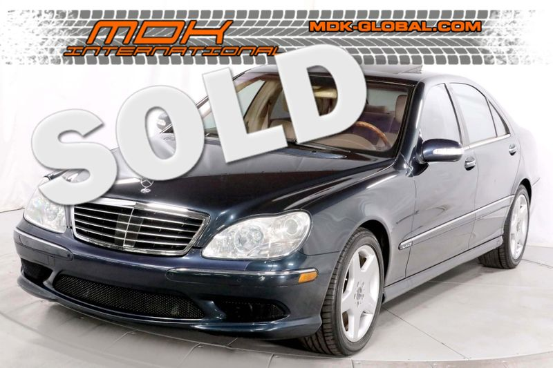 2004 Mercedes-Benz S600 55L - V12 Twin-Turbo - Only 43K miles  city California  MDK International  in Los Angeles, California