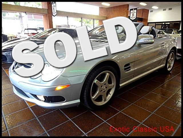 2004 Mercedes-Benz SL500 San Diego, California