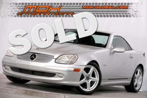 2004 Mercedes-Benz SLK230 Sp Edition - Only 65K miles in Los Angeles