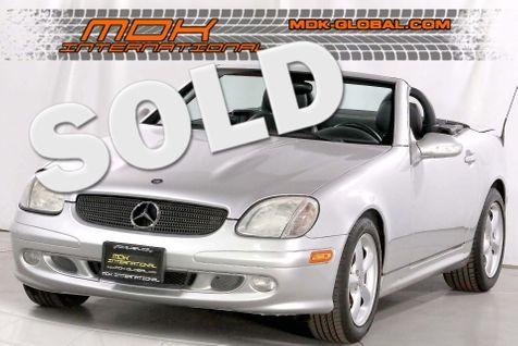 2004 Mercedes-Benz SLK320 - V6 - Only 65K miles - 1 owner - service records in Los Angeles