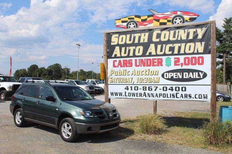 2004 Mitsubishi Outlander LS  city MD  South County Public Auto Auction  in Harwood, MD