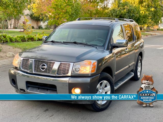 2004 Nissan ARMADA LE AUTOMATIC SERVICE RECORDS
