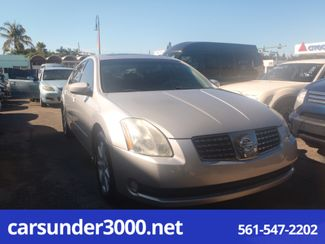 2004 Nissan Maxima SL Lake Worth , Florida
