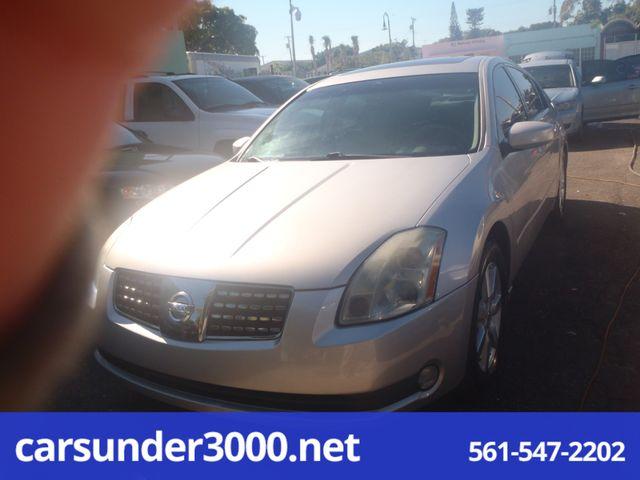 2004 Nissan Maxima SL Lake Worth , Florida 1