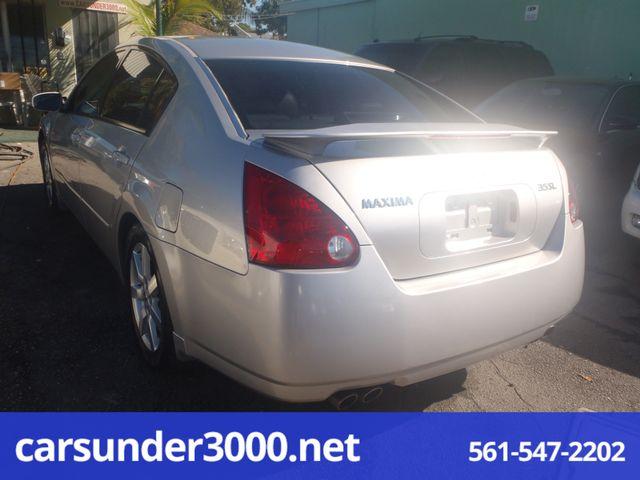 2004 Nissan Maxima SL Lake Worth , Florida 3