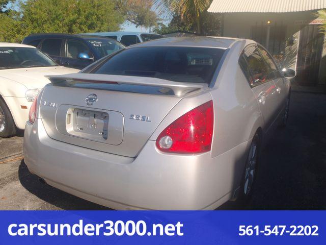 2004 Nissan Maxima SL Lake Worth , Florida 4