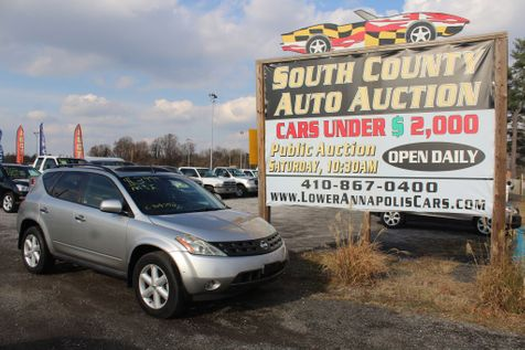 2004 Nissan Murano SE in Harwood, MD