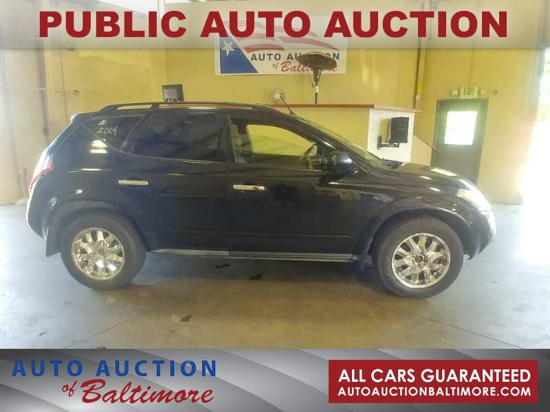 2004 Nissan Murano SL | JOPPA, MD | Auto Auction of Baltimore  in JOPPA MD